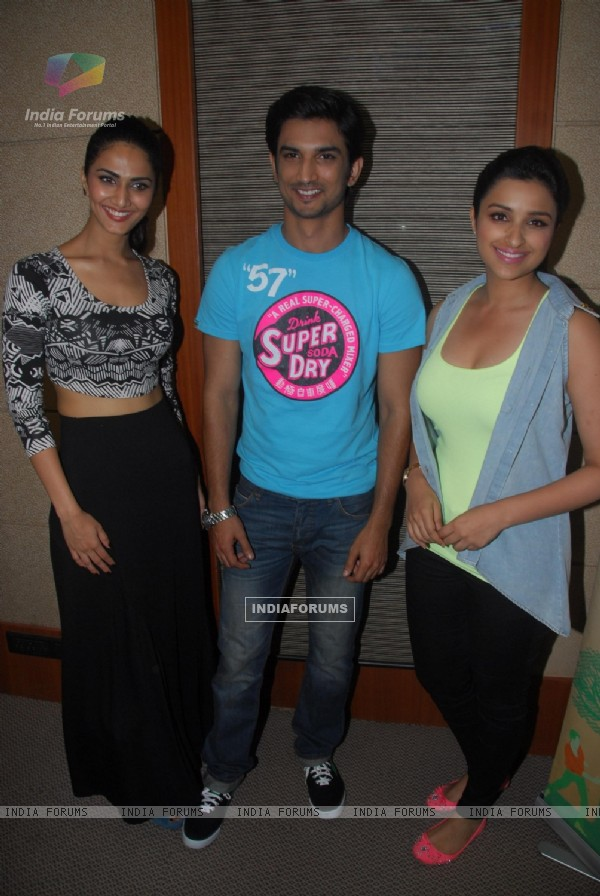 Vaani Kapoor, Sushant Singh Rajput, Parineeti Chopra were seen at the launch