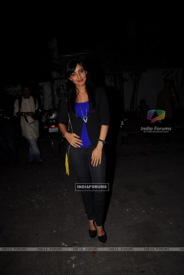Rashi Khanna at the Screening of the Film Madras Cafe