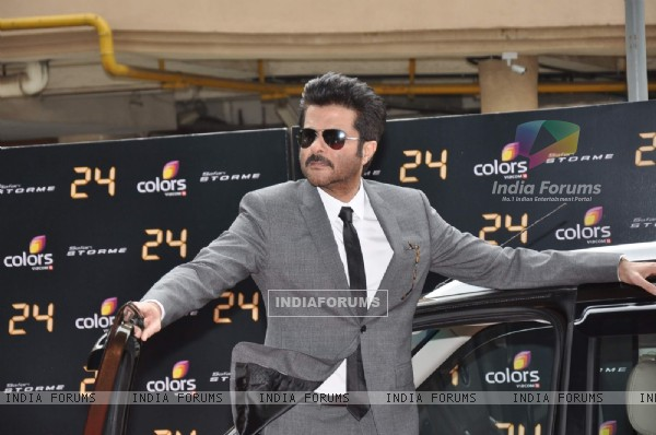 Anil Kapoor arrives in style for the Trailer launch of television series 24