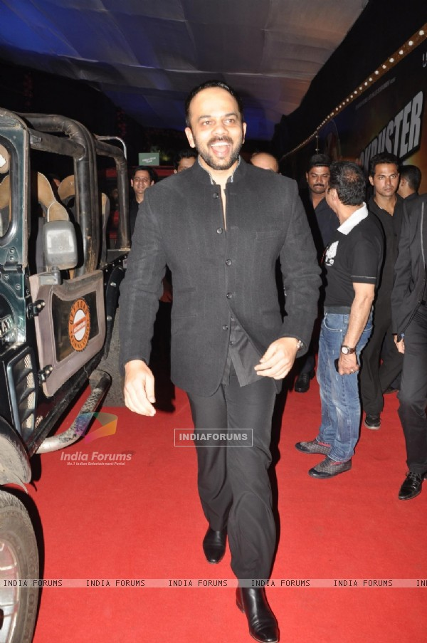 Rohit Shetty arrives at the Chennai Express success party