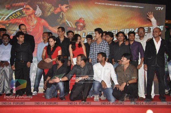Team Chennai Express at the success party