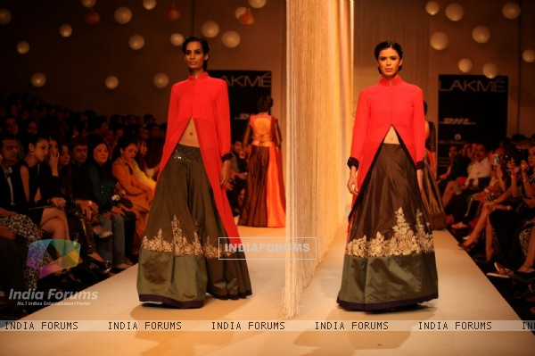 Lakme Fashion Week with Manish Malhotra