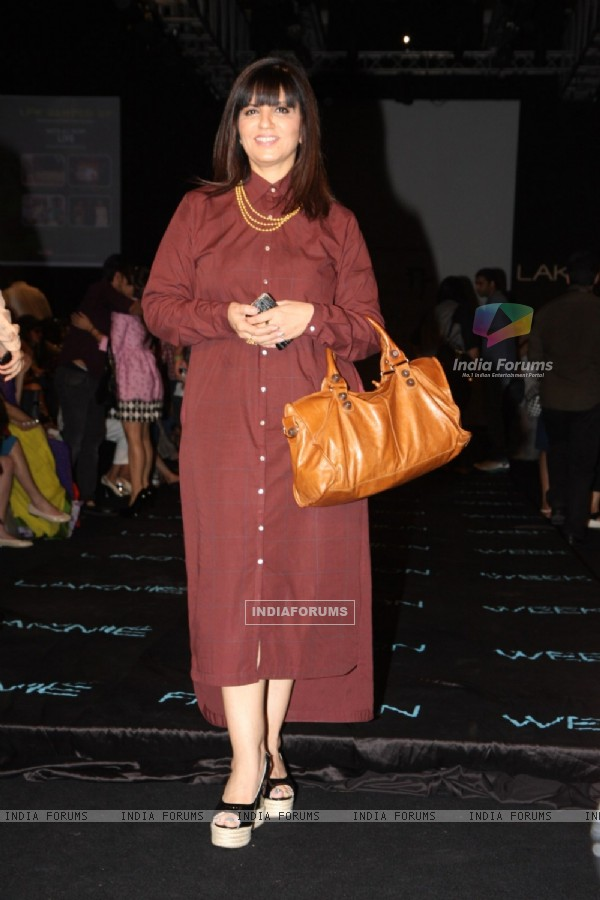 Neeta Lulla at LFW Winter Festival 2013