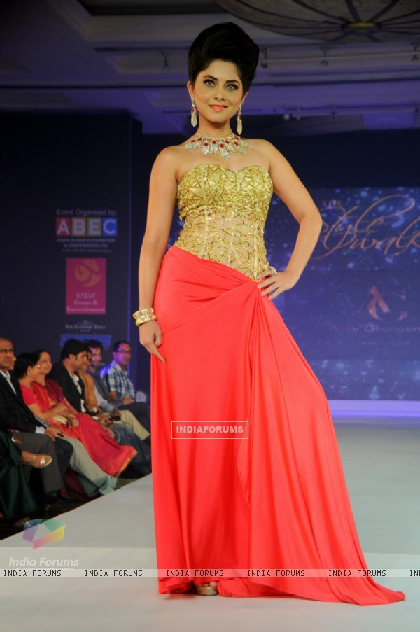 Sonalee Kulkarni was at the Glamour Style Walk