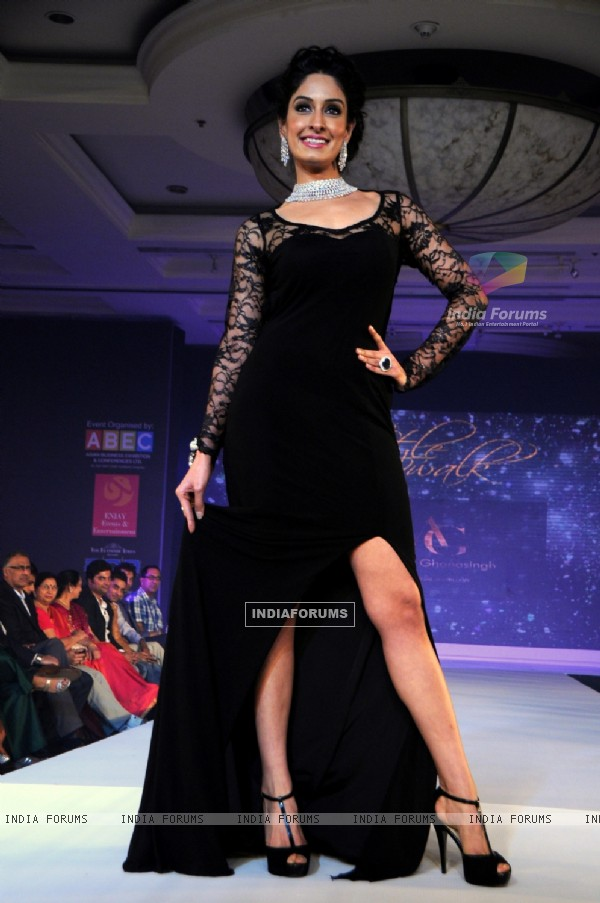 Tanya Malik at the Glamour Style Walk