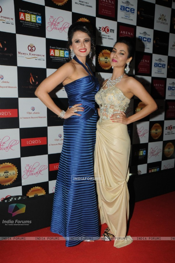Bulbeer Gandhi and Twinkle Bajpai at the Glamour Style Walk