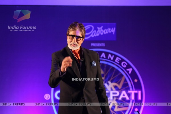 Amitabh Bachchan at the Kaun Banega Crorepati-Press Conference