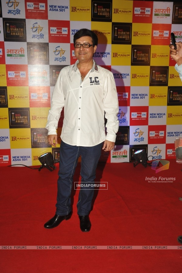 Sachin Pilgaonkar at BIG Marathi Entertainment Awards