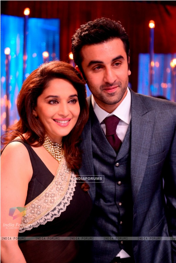 Ranbir Kapoor and Madhuri Dixit on Jhalak Dikhla Jaa