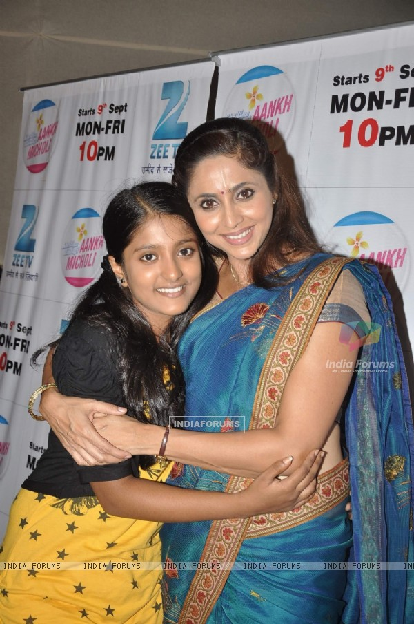 Gautami Kapoor and Ulka Gupta at the launch of Khelti hai Zindagi Aankh Micholi