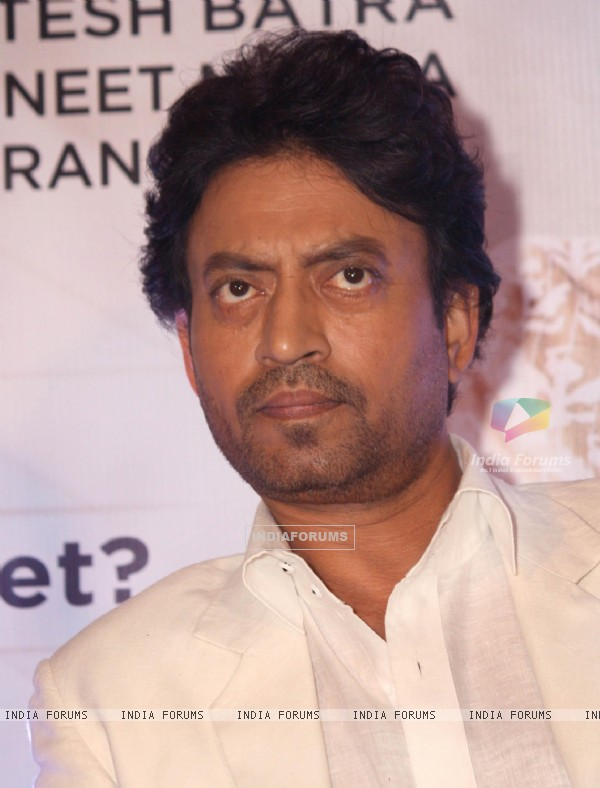 Irrfan Khan at the Press conference for 'The Lunchbox'
