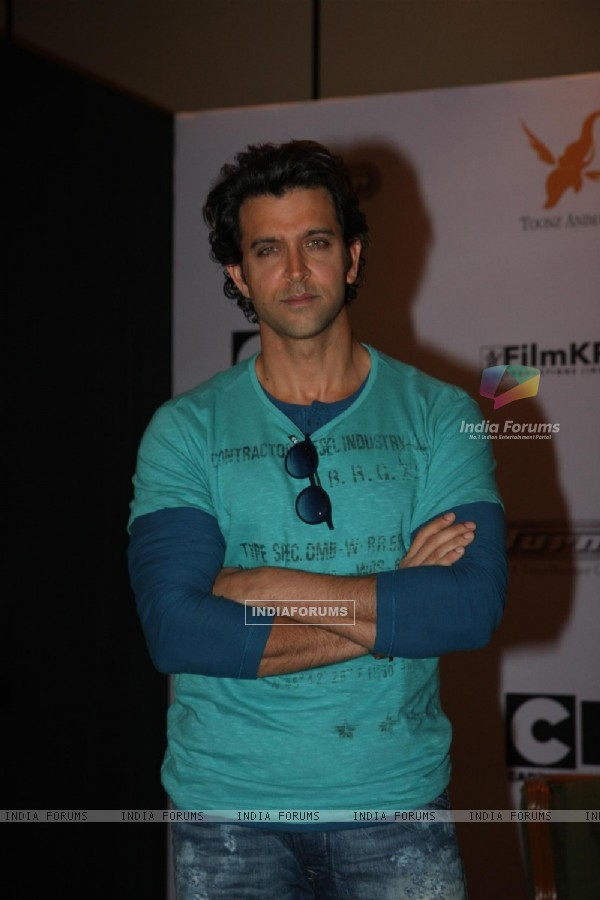 Hrithik Roshan was at the first look of Cartoon Network's 'Kid Krrish'