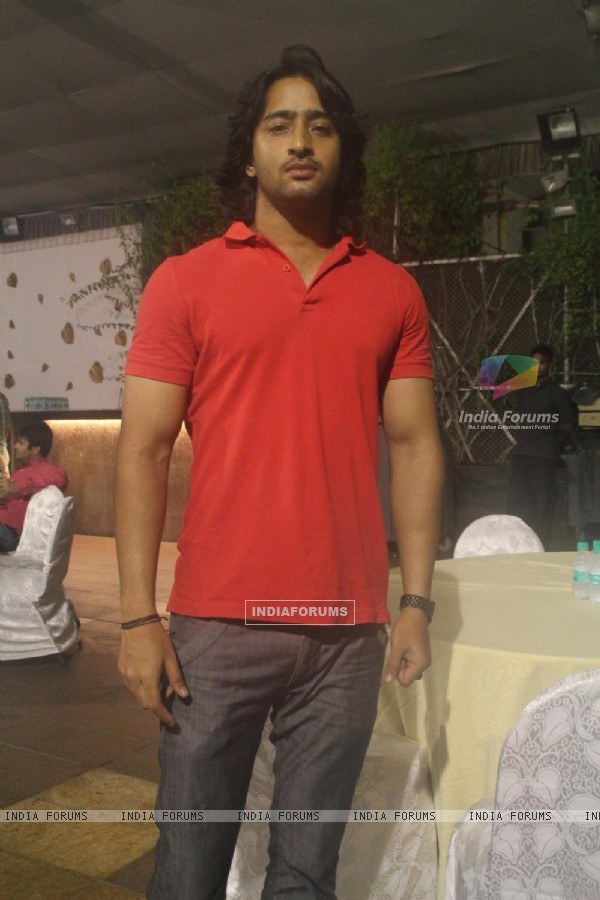 Shaheer Sheikh at the 'Mahabharat' Launch Party