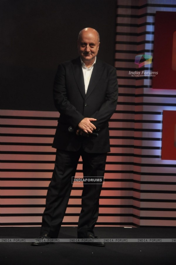 Anupam Kher at the '24' - Press meet