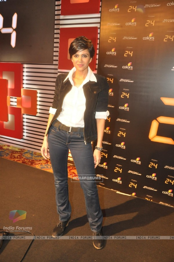Mandira Bedi at the '24' - Press meet