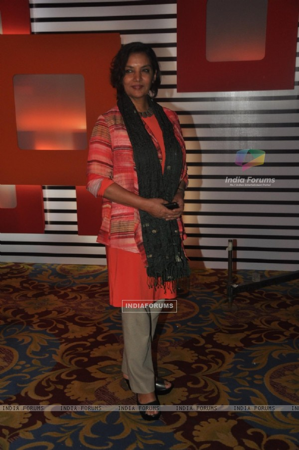 Shabana Azmi at the '24' - Press meet