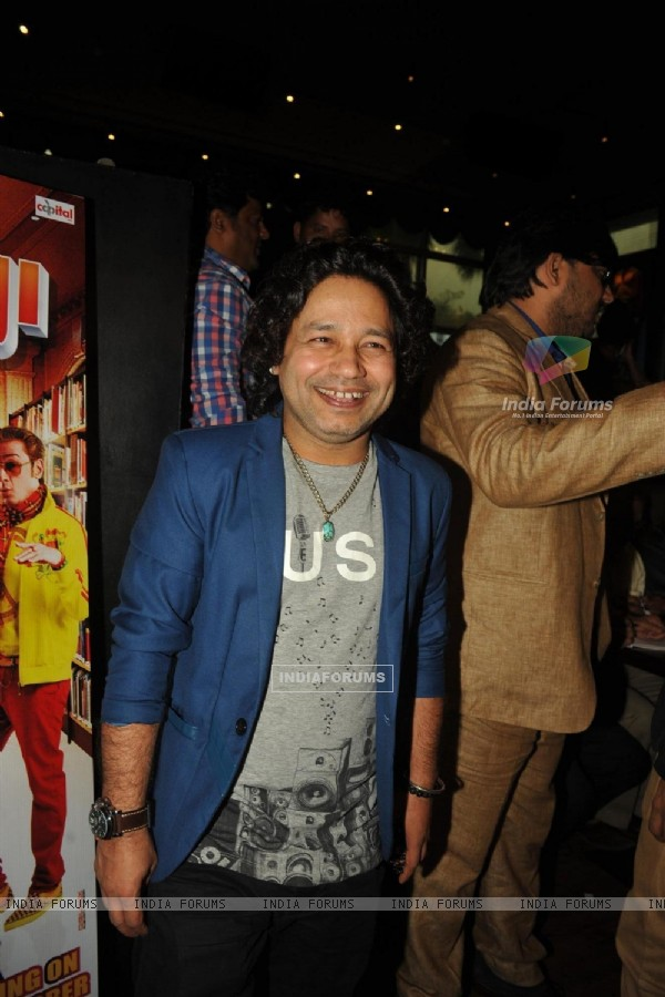 Kailash Kher at the 'Baat Bann Gayi' music launch