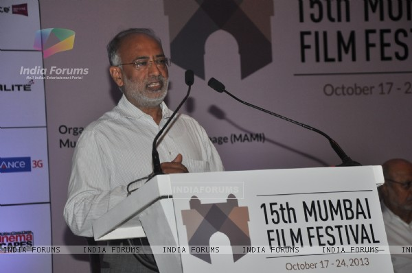 15TH MUMBAI FILM FESTIVAL