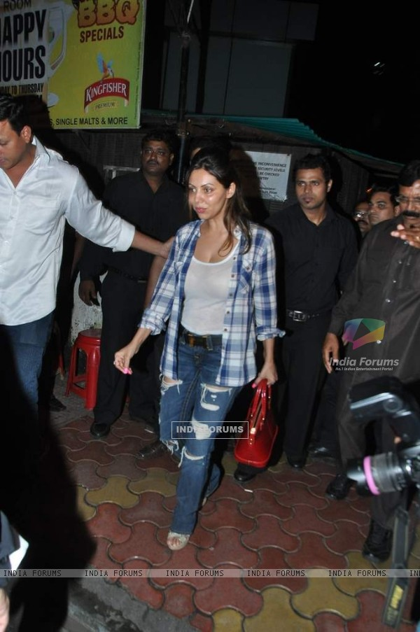 Gauri Khan was at Chunky Pandey's Birthday Bash