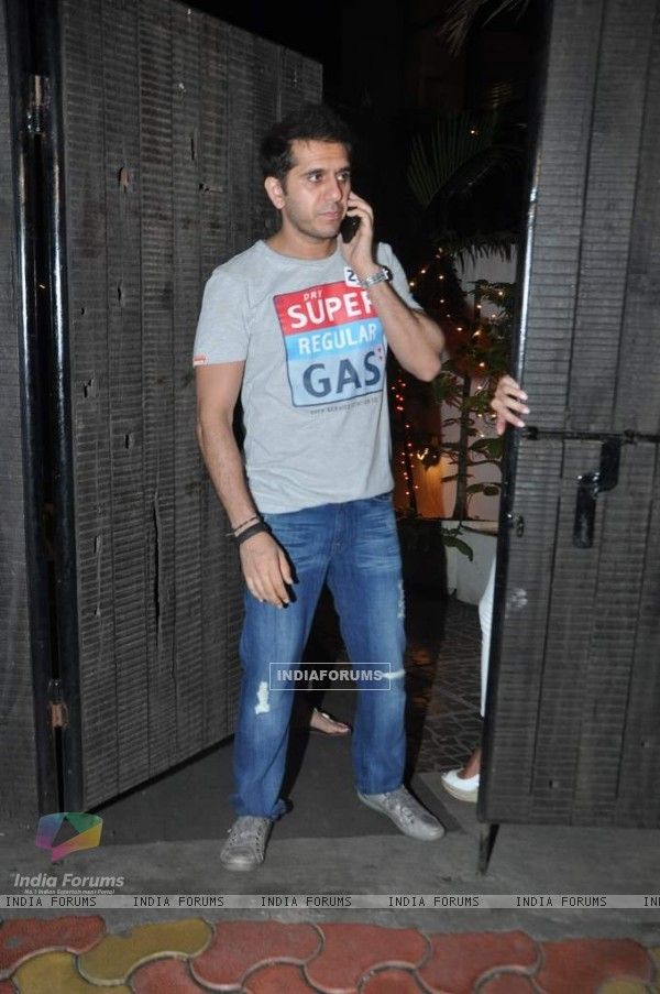Ritsh Sidhwani was seen arriving at Chunky Pandey's Birthday Bash