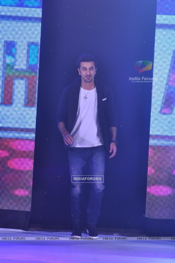 Ranbir Kapoor was seen as Indigo Nation Unveils New Collection