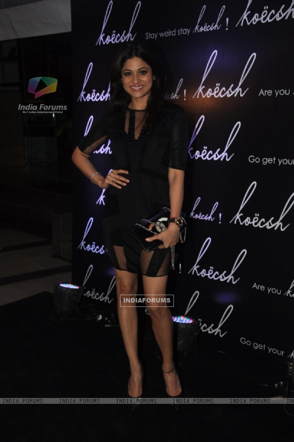 Shamita Shetty at the Fashion Label Koecsh Launch
