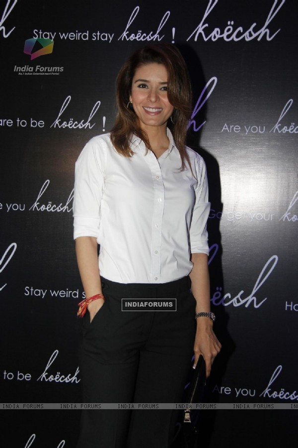 Rageshwari at the Fashion Label Koecsh Launch