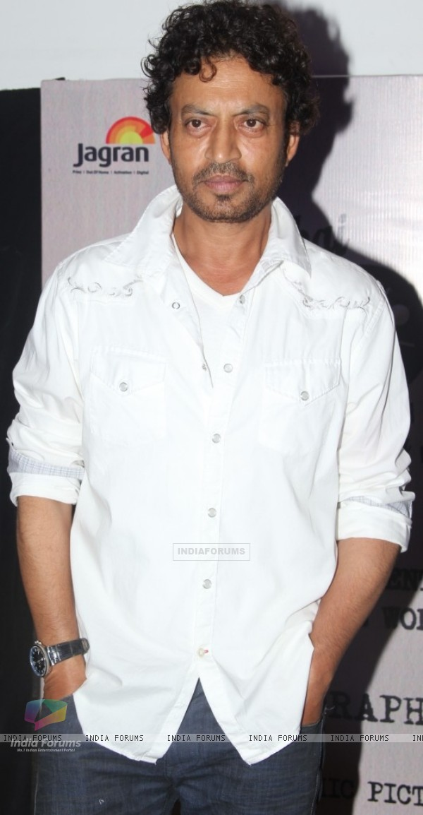 Irrfan Khan at the Screening
