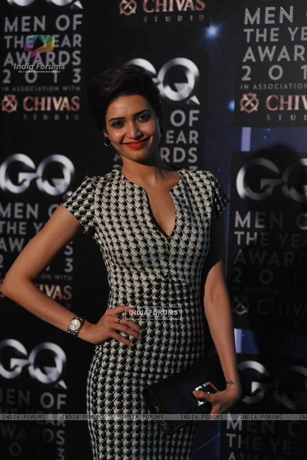 Karishma Tanna at the GQ Man of the Year Award 2013