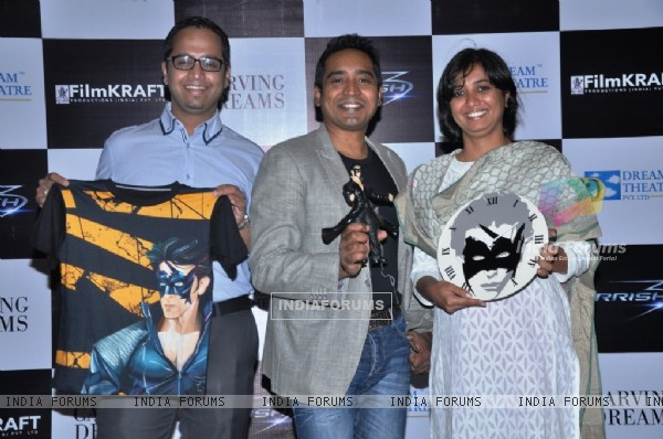 Launch of the official Krrish 3 merchandise