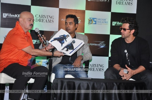 Hrithik Roshan launches the official Krrish 3 merchandise