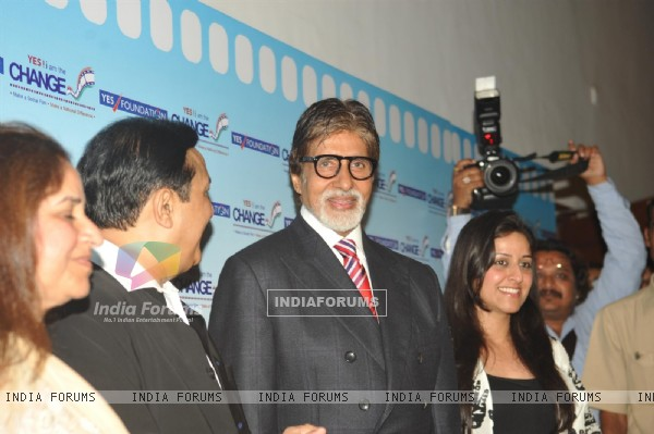 Amitabh Bachchan at the inauguration of 'Yes! I am the Change' Film Festival