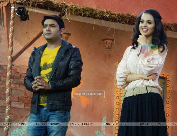 Kangana Ranaut promotes film 'Rajjo' on 'Comedy Nights With Kapil'