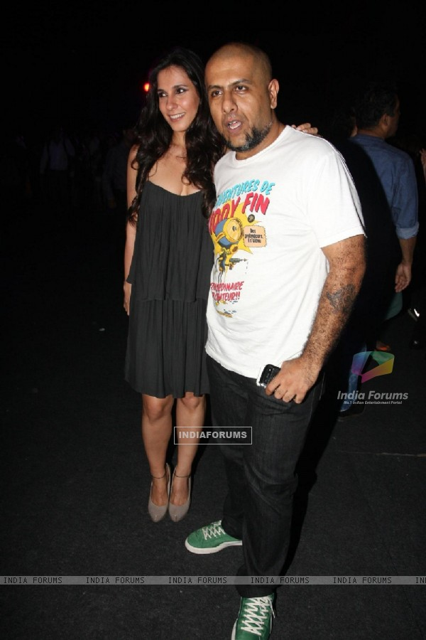 Vishal Dadlani was seen at the Blackberrys Sharp Nights 2013