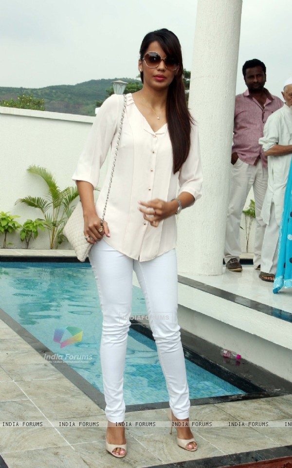 Mugdha Godse was seen at the Inauguration of Galaxy Valley of Stars