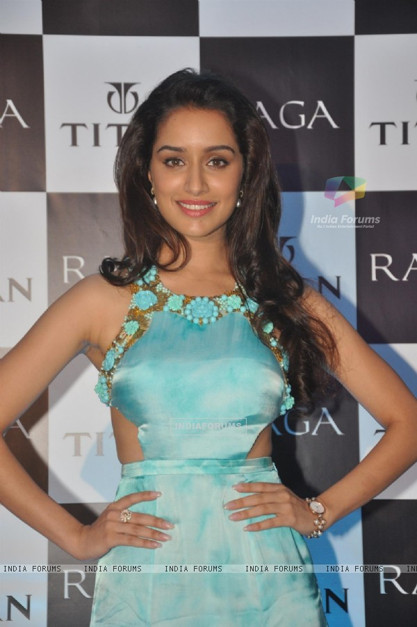 Shraddha Kapoor launches a new range of Titan Raga watches