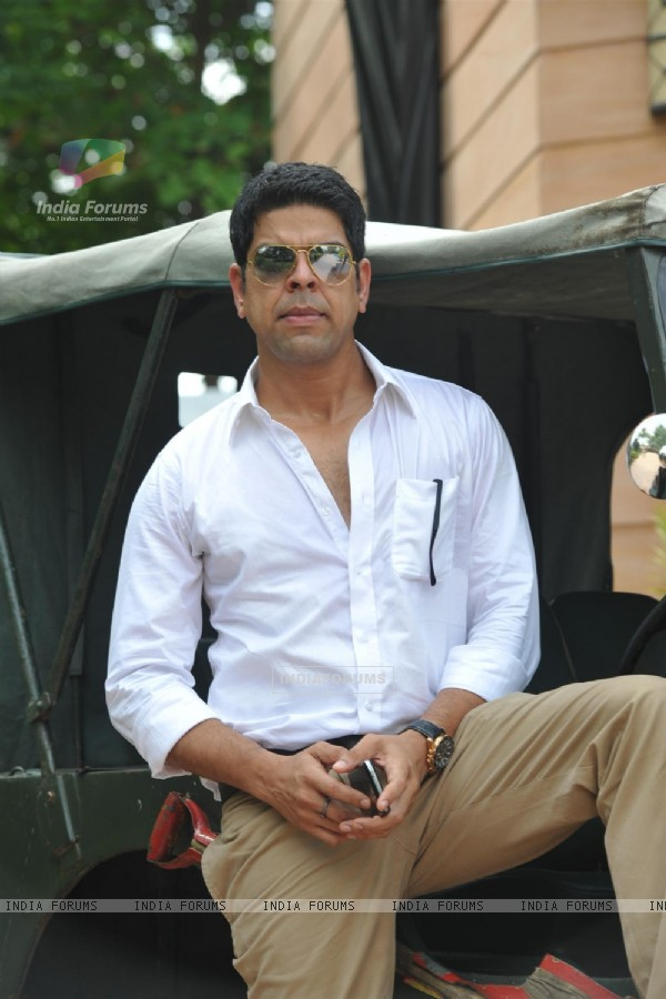 Murali Sharma at the mahurat of the film 'Desi Kattey'