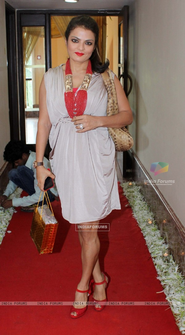 Sheeba was seen at Anu Ranjan's Birthday Party