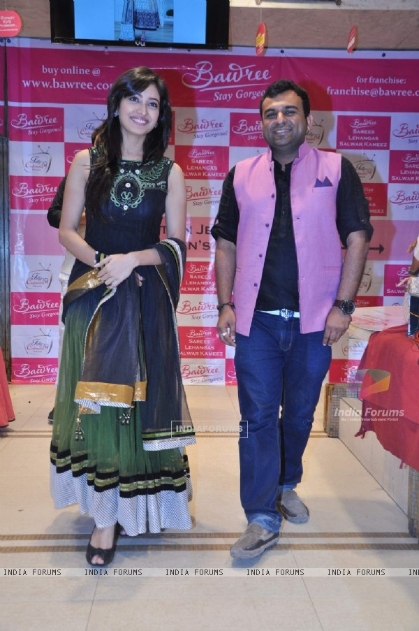 Asha Negi was at the Launch of Telly Calendar