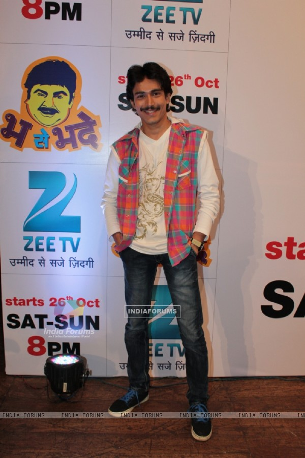 Dushyant Wagh at the launch of Bh Se Bhade