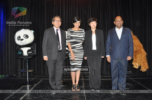 Mandira Bedi launches the Singapore Tourism Board's new marketing campaign