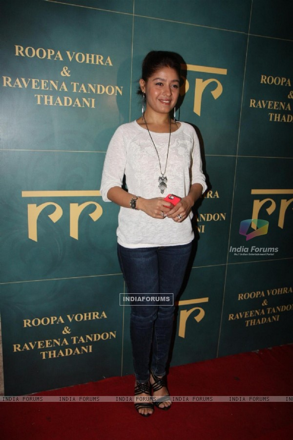 Sunidhi Chauhan at the Launch of new jewellery line, 'RR'