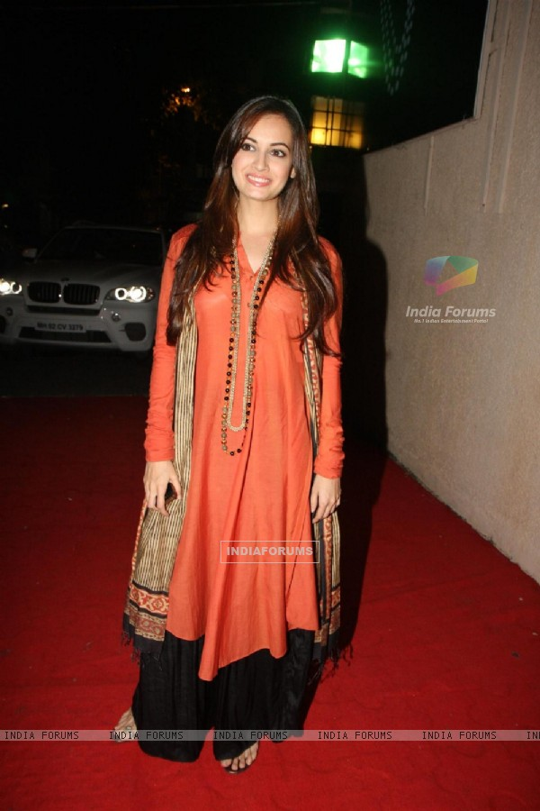 Dia Mirza at the Launch of new jewellery line, 'RR'