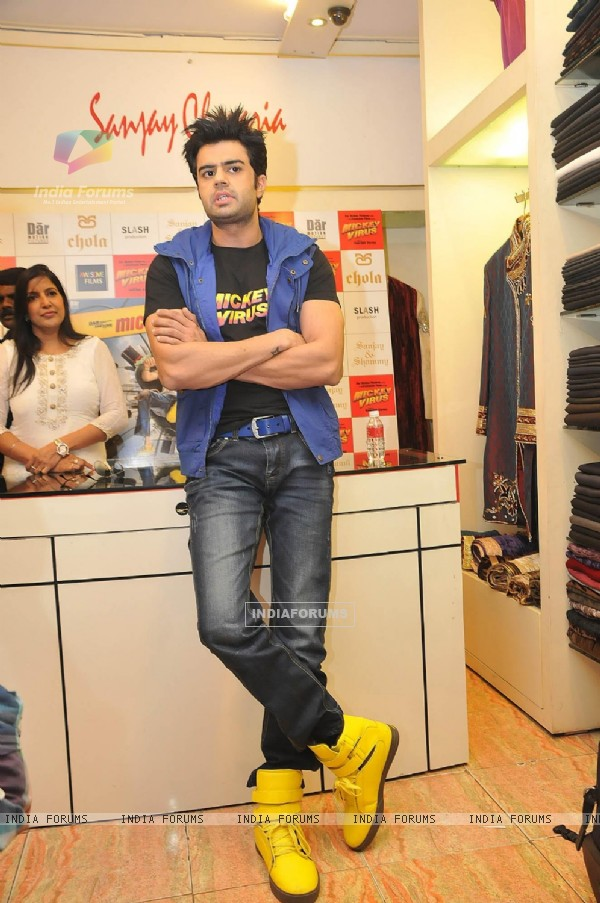 Manish Paul promotes his upcoming film 'Mickey Virus'