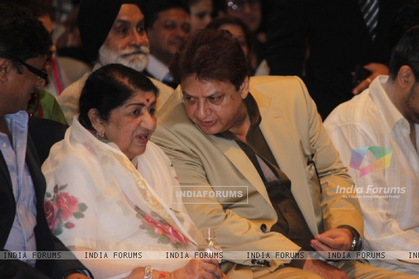 Lata Mangeshkar at the Yash Chopra Memorial Award
