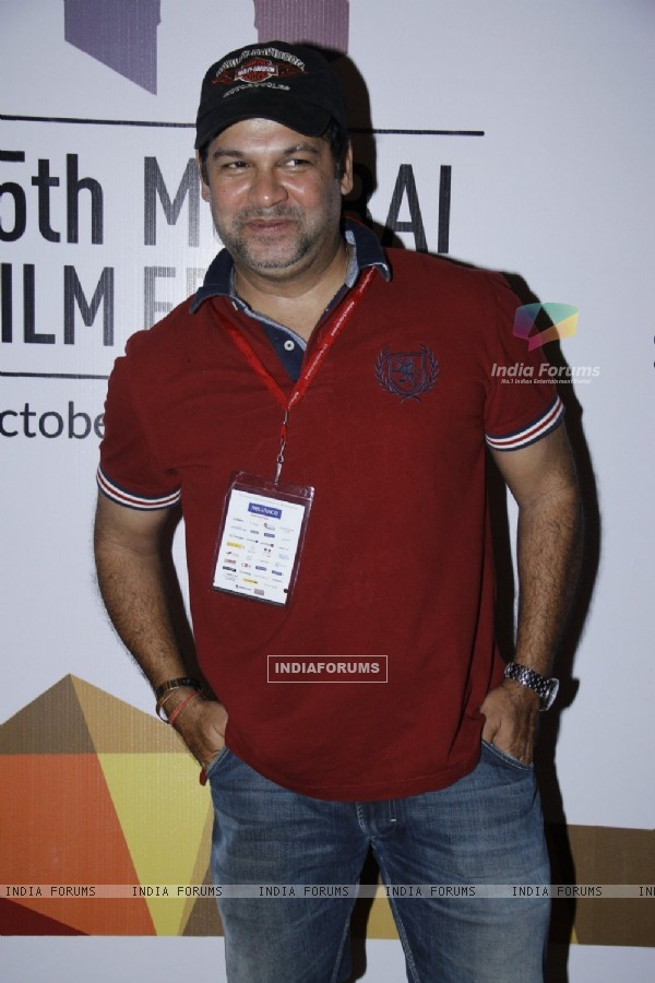 Suresh Menon at the Mumbai Film Festival