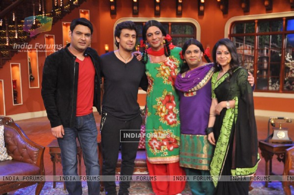 Sonu Nigam on Comedy Nights with Kapil