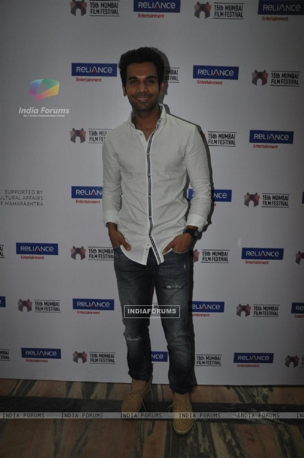 Closing ceremony of 15th Mumbai Film Festival