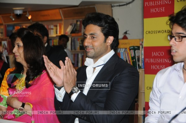Abhishek Bachchan at the Book Launch of Teenage Blues