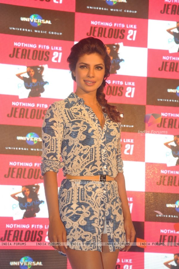 Priyanka Chopra at the celebration of her single 'EXOTIC'